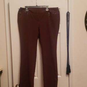 Women's Pants Burgundy/wine color